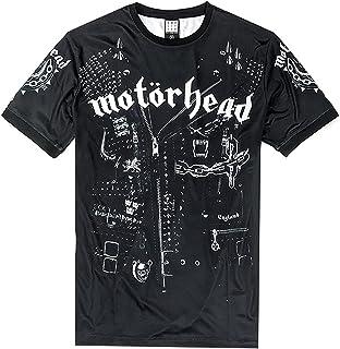 Amplified Clothing Motorhead 'Leather Vest' (Dye Sub) T-Shirt