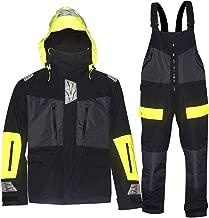 Navis Marine Offshore Sailing Jacket Bib Pants for Men Fishing Rain Suit Foul Weather Gear PRO Breathable