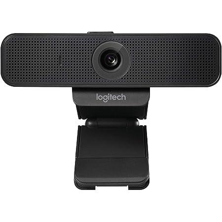 Logitech C925-E Business Webcam, Videochiamata HD 1080p/30fps, Correzione Luce, Autofocus, Audio Chiaro, Privacy Shade, Funziona Con Skype Business, WebEx, Lync, Cisco, PC/Mac/Laptop/Macbook, Nero