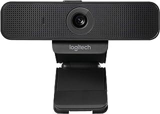 Logitech C925e Business Webcam, Video-Llamadas HD 1080p/30fps, Corrección de Iluminación Automática, Enfoque Automático, Sonido Nitído, Skype Business, WebEx, Lync, Cisco, PC/Mac/Portátil/Macbook