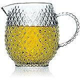 Caraffa Vetro Designer Brocca Tè - Perfetto Per Il Caldo O Il Freddo - Caraffe Vetro Spes...