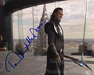 Tom Hiddleston Signed Autographed 8x10 Inch Photo Print
