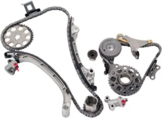 MOCA Engine Timing Chain Kit for 2005-2015 Toyota 4Runner & Toyota Tacoma & Toyota Hilux & Toyota Hiace 2.7L L4-2TRFE Design