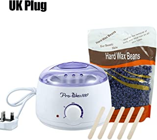 Wax Heater, 3 Types Non Toxic Hygienic Hair Removal Hot Paraffin Wax Pot Warmer Heater Salon Spa Depilatory 110-240V (#3)