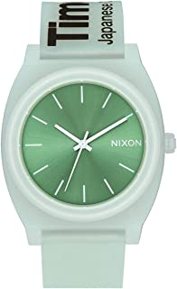 NIXON Time Teller P A119-100m Water Resistant Men's Analog Fashion Watch (40mm Watch Face, 20mm Pu/Rubber/Silicone Band)