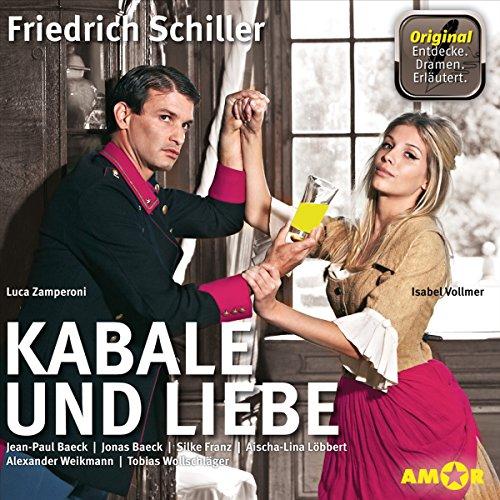 Kabale und Liebe - Die wichtigsten Szenen im Original audiobook cover art