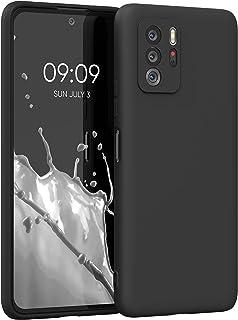 kwmobile telefoonhoesje compatibel met Xiaomi Poco X3 GT - Hoesje voor smartphone - Back cover in mat zwart