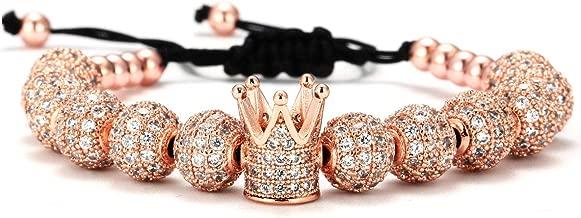 mens micro pave bracelet