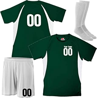Custom Soccer Jersey Mix and Match Soccer Shorts and Socks for Complete Uniform