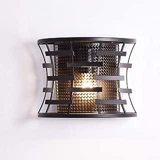 Truelite Industrial Rustic Metal Mesh Wall Sconce Vintage Wall Lantern