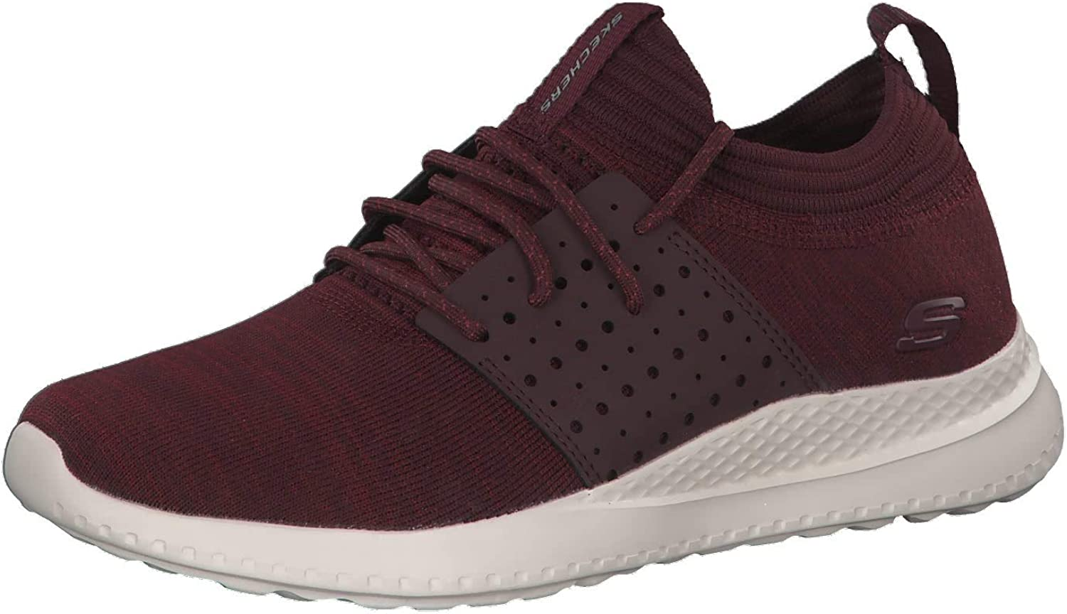 Skechers Mens Burgundy Matera Knocto Trainers