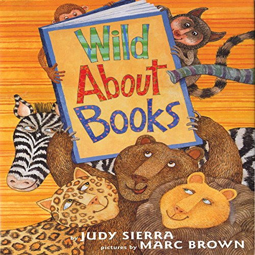 Wild About Books audiobook cover art