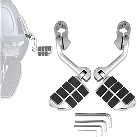 Highway Pegs, 1 1/4-Inch for Electra Glide Road King Street Glide Engine Guard Bar Foot Rests