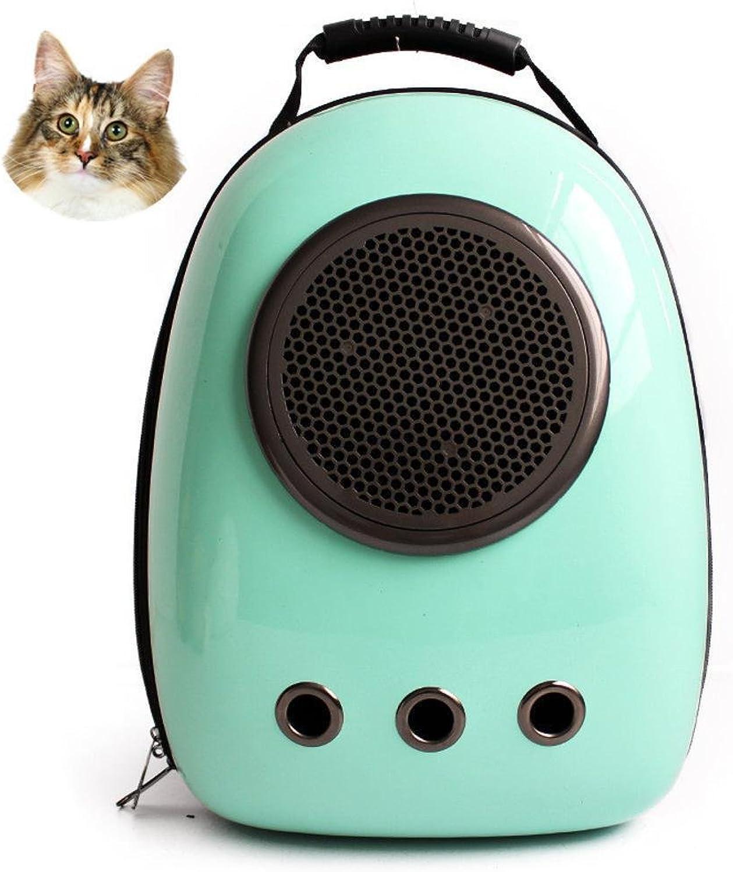Dixinla Pet Carrier Backpack Cat Dog space Cabin pet bag cat dog out shoulder backpack portable breathable Guolu PVC 29  23  42cm
