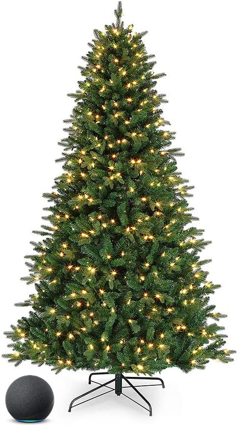 Mr. Christmas Compatible with Alexa LED RGB Spruce Same day Regular store shipping Vermont Chris