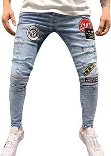 Xmiral Jeans Uomo Moda Elasticizzato 198602