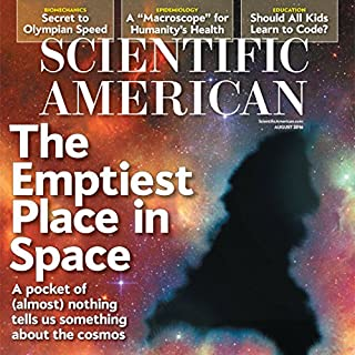 Scientific American, August 2016 cover art