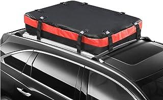 Portaequipaje Techo Coche Impermeable Cofre De Techo,Durable Universal Equipaje De Techo Suave, para Todos Los Autos con Estante