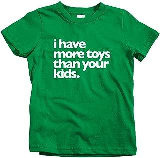 Smash Transit x Rotofugi Kids Toy Fetish T-Shirt - Kelly Green, Youth Small