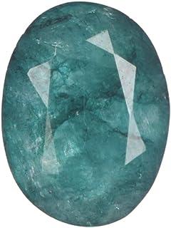Real Gems Oval Cut Emerald Loose Stone 4.50 CT. Esmeralda Natural certificada, Piedra Preciosa Suelta Esmeralda facetada p...