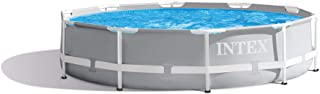 Intex 10ft x 30in Prism Frame Above Ground Swimming Pool (Pump Not Included)