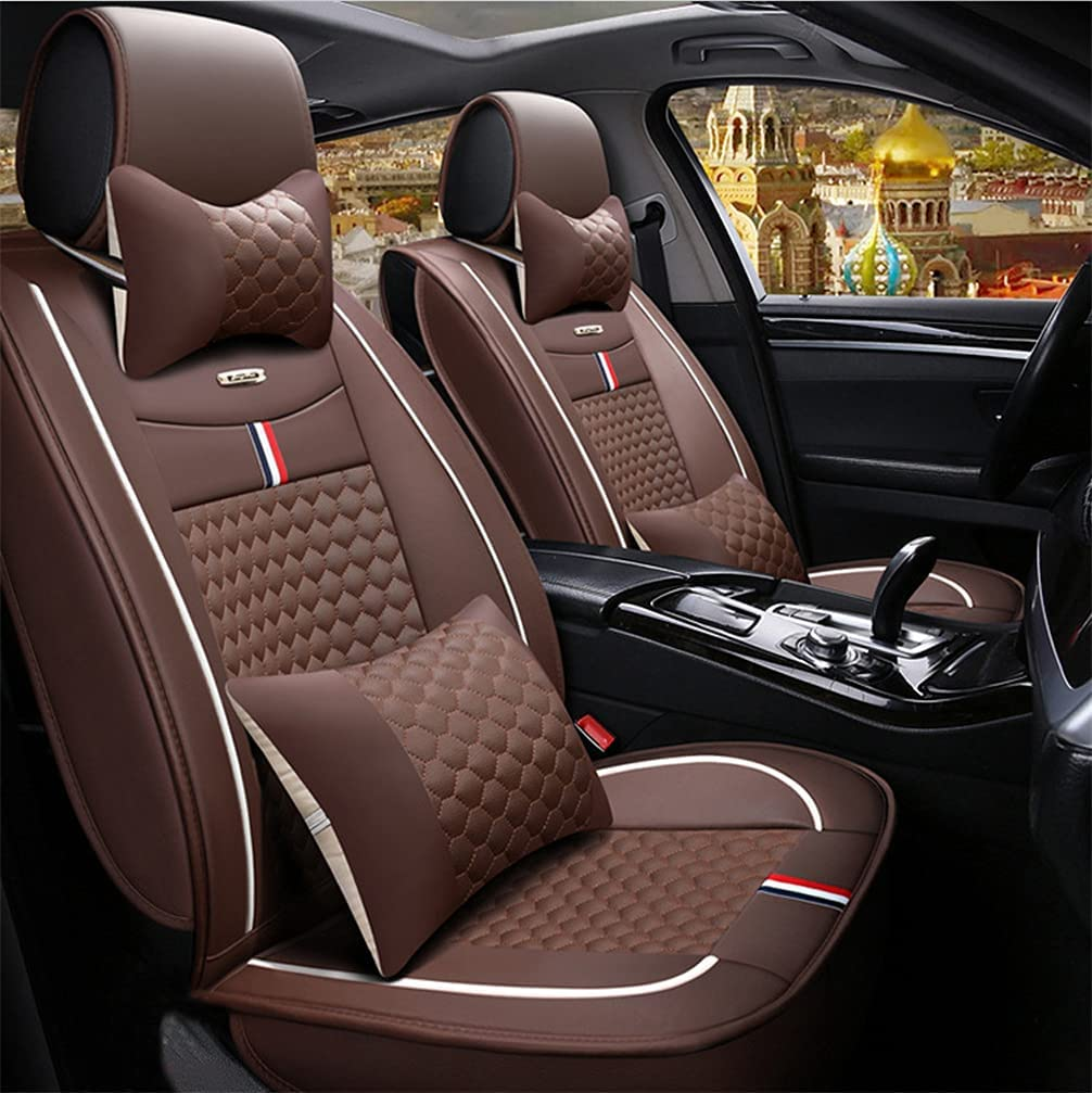 Ruberpig Ranking TOP2 Car Leather Seat Covers Fit Hyundai for Max 59% OFF Equus Pillows