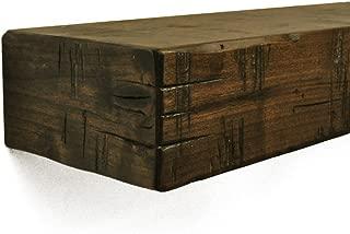 Rustic Fireplace Mantel Shelf Shelf Length: 48