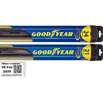 Amazon Com Hybrid Windshield Wiper Blade Set Kit Bundle For