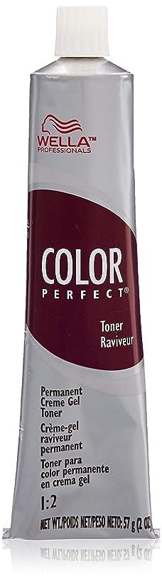 Wella Color Perfect Permanent Creme Gel Toner T11a Lightest Ash Blonde for Women, 2 Ounce