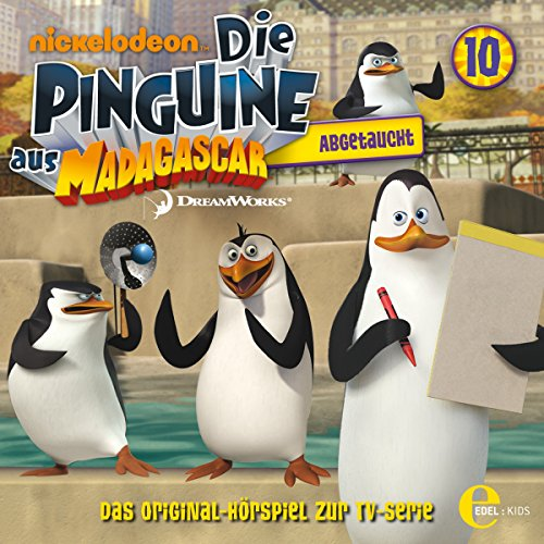 Abgetaucht (Die Pinguine von Madagascar 10) Titelbild