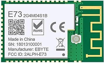 Rubsy Durable NRF52832 2.4GHz Transceiver Receiver E73-2G4M04S1B SMD BLE 5.0 Wireless Bluetooth Module
