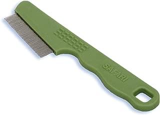 Safari Pet Products Flea Comb for Cats, Flea and Tick Prevention for Cats, Cat Flea Treatment, Flea Prevention