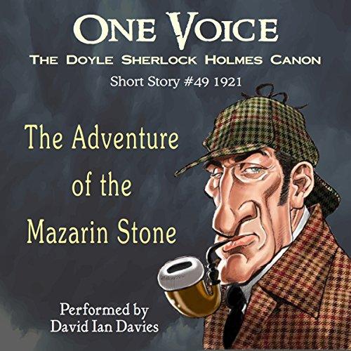 Bargain Audio Book - The Adventure of the Mazarin Stone