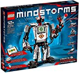 Newest Lego Mindstorms: EV3 Robot Building Set with Remote Control for Kids, Educational Invention Kit with Motors and Sensors for Programming and Learning How to Code (601 Pieces)