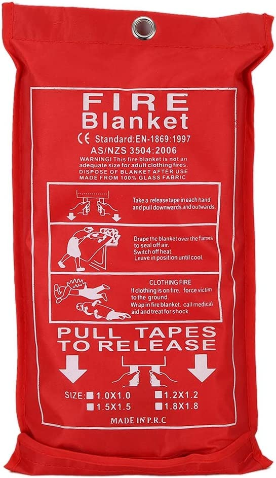 Hozee Fire Suppression Latest item Emergency Blanket Reusable Max 45% OFF