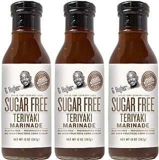 G Hughes Sugar Free Original Teriyaki Sauce 13 oz (3 Pack)