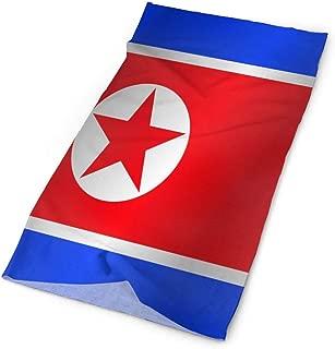 Flag Of North Korea Colorful Outdoor Scarf Headbands Bandana Mask Neck Gaiter Head Wrap Mask Sweatband
