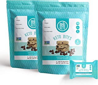 BHU Keto Bites - Chocolate Chip Cookie Dough (2 Bags)