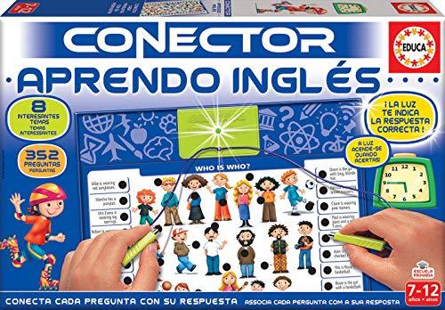 Educa - Aprendo Inglés Juego Connector para Niños, Multicolor (17206)