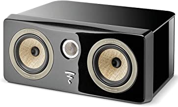 Focal Kanta Center Channel Speaker with Black Gloss Cabinet and Black Gloss Front Panel