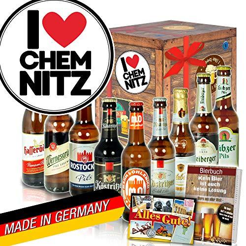 I love Chemnitz/Chemnitz Geschenkkorb/Bier DDR Geschenk Ideen