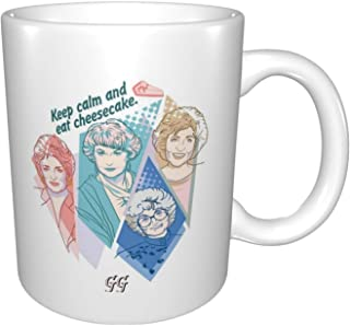unisex American Gift for Dad Friend and family New Golden Girls NBC Squad Vintage Retro 80s Mens Vintage Coffee Mug Tea Cup