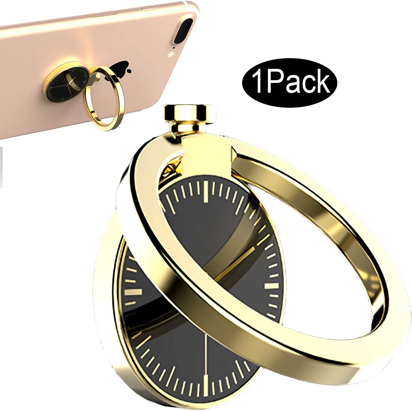 CaseHQ Gold Cell Washington Mall Phone Ring 360 5 ☆ popular Rotation Kickstand Grip Holder