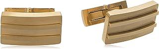 Diamond Moon Stainless Steel Cufflinks for Men, Stainless Steel - 1800541240436