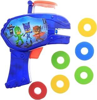 PJ Masks PJMASKS Foam Disc Launcher, Blue, Red, Yellow, Green