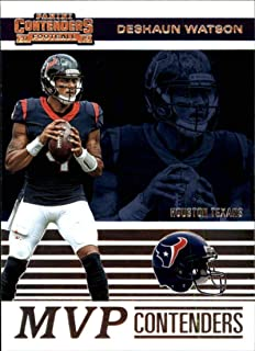 2019 NFL Contenders MVP Contenders #13 Deshaun Watson Houston Texans Official Panini Football Trading Card