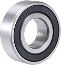 uxcell 1630-2RS Deep Groove Ball Bearing 3/4 inches x 1-5/8 inches x 1/2 inches Double Sealed Chrome Steel Bearings 1-Pack