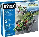 K'NEX 33943 - Building Sets - Revvin Race Car 2-IN-1 - 370 Pieces - 7+ - Bau- und Konstruktionsspielzeug