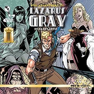 The Adventures of Lazarus Gray audiobook cover art