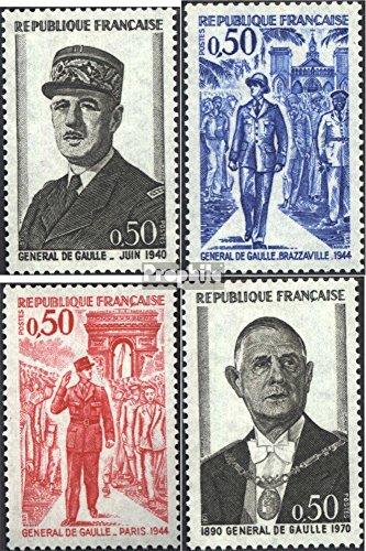 France 1772-1775 (complète.Edition.) 1971 Charles de Gaulle (Timbres pour Les collectionneurs)